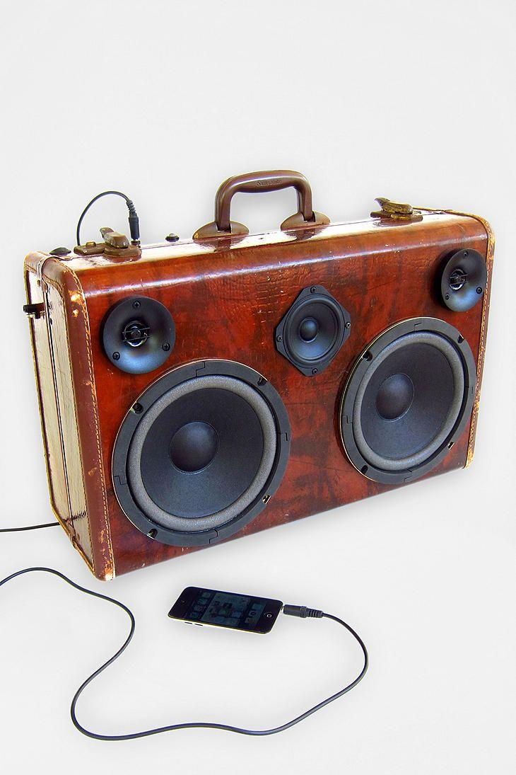 BoomCase The Traveler Speaker #UrbanOutfitters #BoomCase #BoomBox - Exclusive!