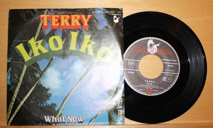 "TERRY - Iko iko +  What now - 7"" - Hansa - FRANK ZANDER"