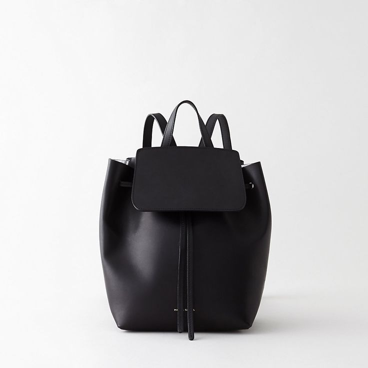 MINIMAL + CLASSIC: Mansur Gavriel Mini Backpack