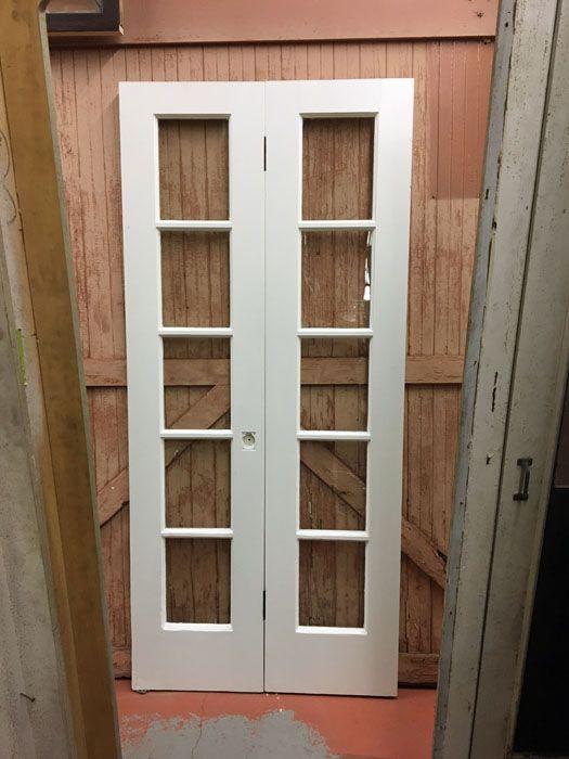 Ten light French doorset...(2)available. Narrow French DoorsArchitectural ... & 23 best Narrow French Doors images on Pinterest | Narrow french ...