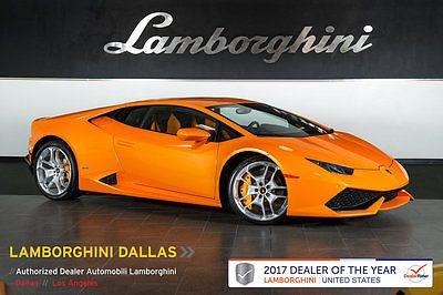2015 Lamborghini Huracan LP610-4 Coupe 2-Door NAV+RR CAM+PWR SEATS+ALCANTARA+TRANSPARENT ENGINE+LIFT SYSTEM+PEARL+BICOLLOR
