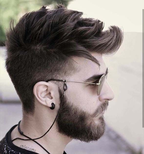 Awesome Hairstyle For Men With Beard Ideas 2018 Mens Hairstyles With Beard Hair And Beard Styles Beard Hairstyle