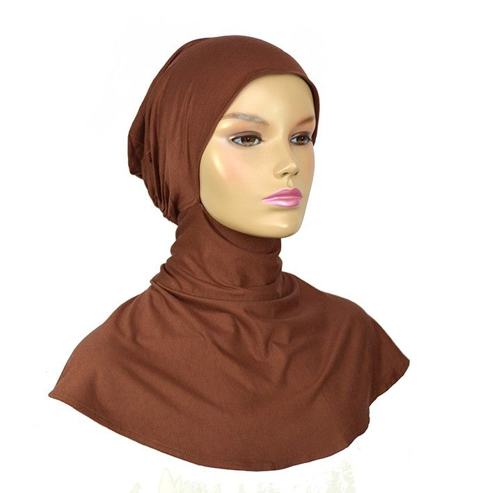 Egyptisk under scarf extra long brown - Hijab Now