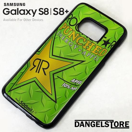 rockstar energy drink apple punched For Samsung S8 | S8 Plus Case