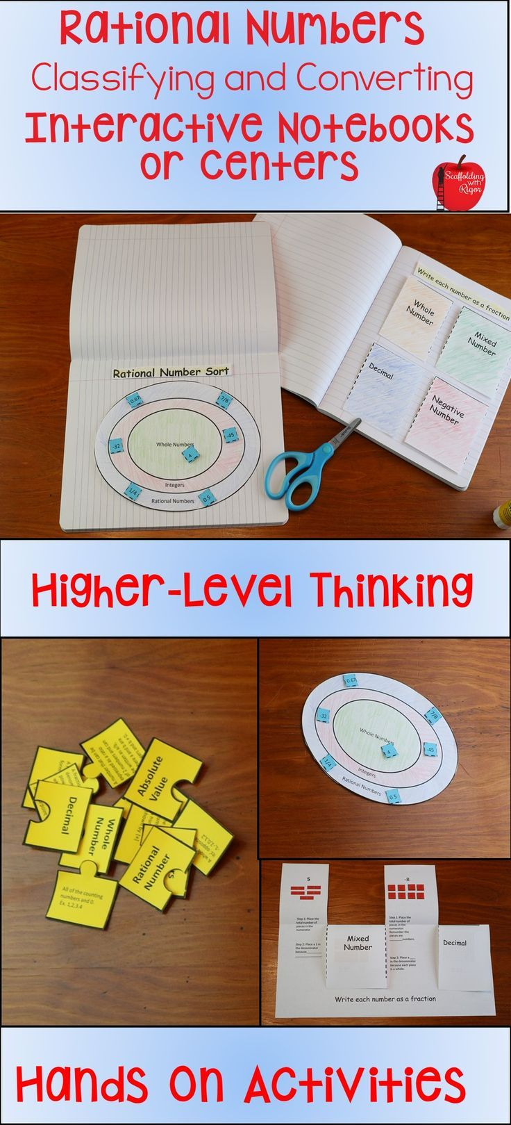 10 Best Numbers Images On Pinterest High School Maths