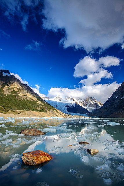 Argentina. Patagonia. PN de Los Glaciares. Laguna Torre
