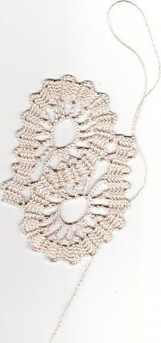 转载】比利时花边教程:布鲁日肚脐形成   + How to photo`s to crochet free pattern (Bruge Lace crochet or Russian Tape crochet)