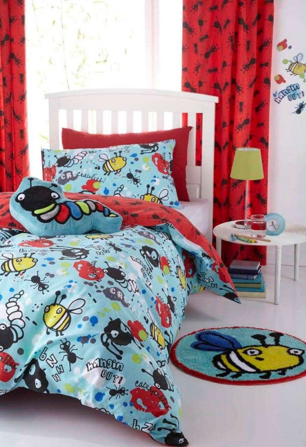 Your Kids Will Love Summertime Ning In This Creepy Crawlies Duvet Cover Set