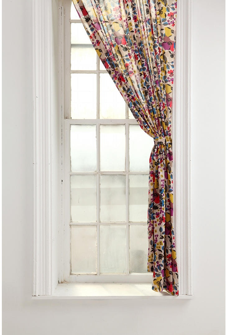 Modern 36 quot 40 quot blinds shades allmodern - Confetti Floral Curtain