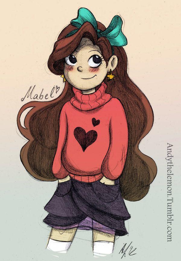 Mabel by =AndytheLemon on deviantART