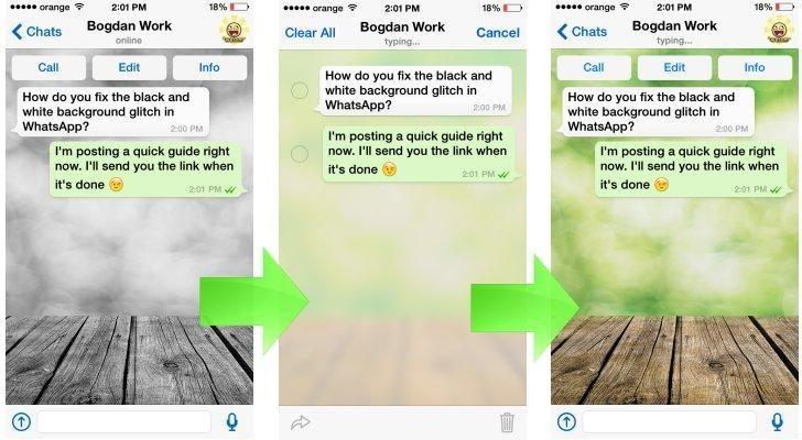 Cómo subsanar el error de Whatsapp en el Iphone.