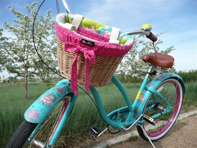 Handmade Bicycle Baskets : Best cruisin images on
