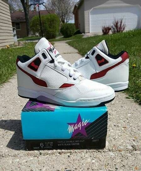d243a53e080f14 1990 RARE VINTAGE Converse Triple Double Magic Johnson SIZE 6 jordan retro  11 1  Converse  BasketballShoes