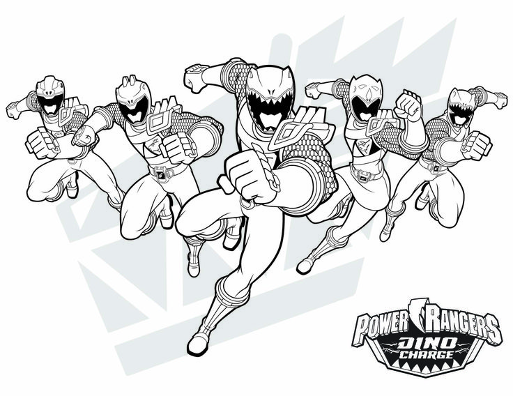 8 best Power Rangers Coloring Pages