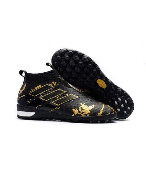 Adidas ACE Tango 17 Purecontrol TF NA SZTUCZNĄ NAWIERZCHNIĘ TYPU TURFbuty piłkarskie czarny złoto