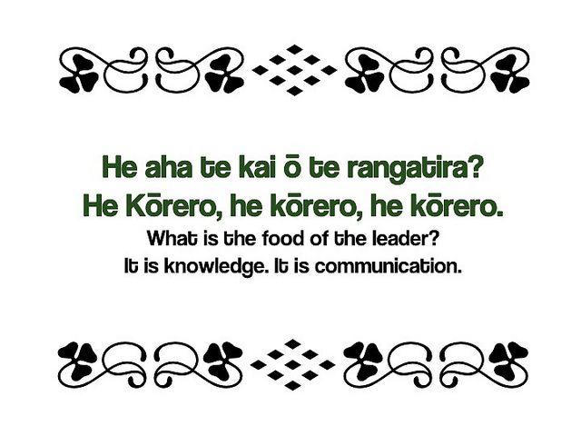 Maori Proverb-NZ