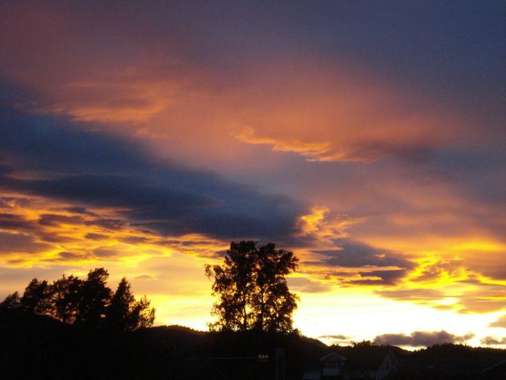 Colorful sunset. #sunset #beauty #nature