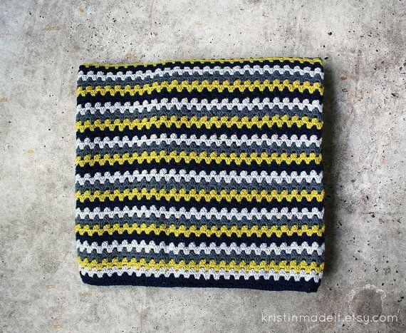 Crochet Granny Stitch Afghan