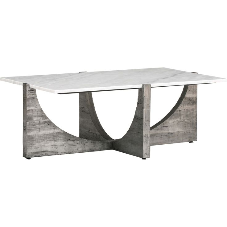 Arctic Cocktail Table, White   Coffee Tables   Accent Tables   Furniture