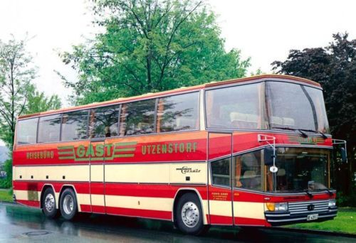 Details about 1984 drogmoller mercedes benz tour bus for Mercedes benz touring coach