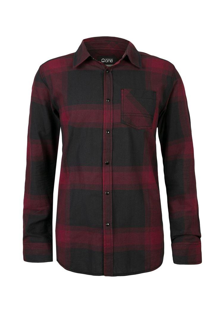 Relaxed Plaid Shirt