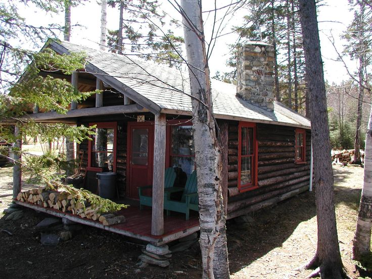 Charmant The Birches ResortLodging At The Birches Resort On Moosehead Lake: Rustic  Log Cabins