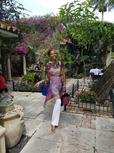 Caryna Nina original silk chiffon Daniella dress