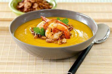 Spicy pumpkin soup – Recipes – Bite