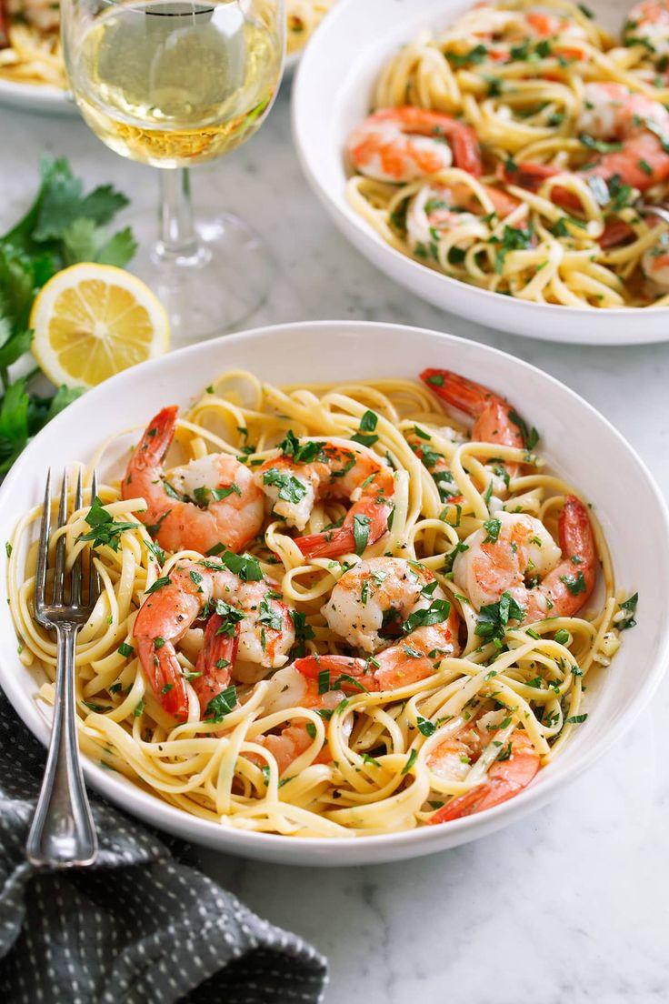 Shrimp Scampi!