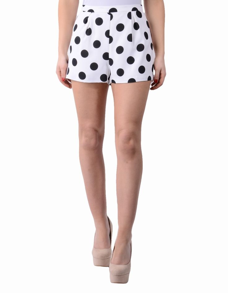 Jovonna | White Join The Dots Shorts | Accent Clothing