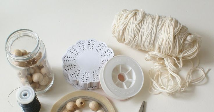 ArtMind: How to make a paper doily angel & garland?