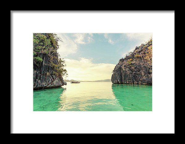 Coron, Palawan Framed Print by Mc. All framed prints are professionally printed, framed, assembled, and shipped within 3 - 4 business days and delivered ready-to-hang on your wall. Choose from multiple print sizes and hundreds of frame and mat options.