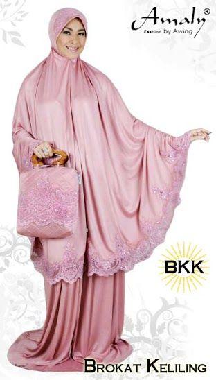#Mukena dengan kualitas terbaik dilengkapi dengan brokat