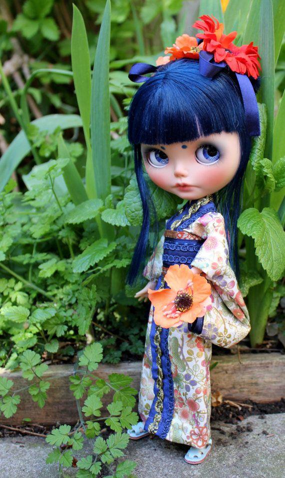 MeiMei OOAK Custom Blythe Doll by Meadowdoll by meadowdolls