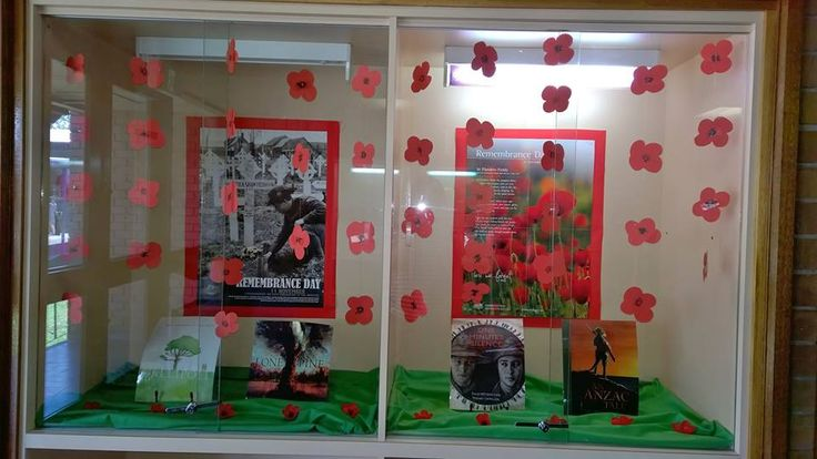 Display for Remembrance Day 2014.