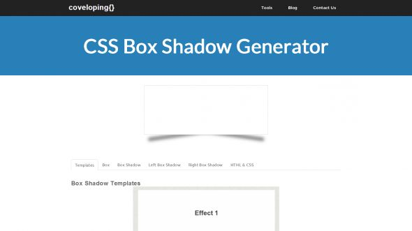 In this tutorial we are going to be creating box shadow effects with just CSS. Below is an image created in photoshop of different box shadows effects. These used to be the only way of creating this effect but thanks to CSS3 we can now do all this with just CSS.