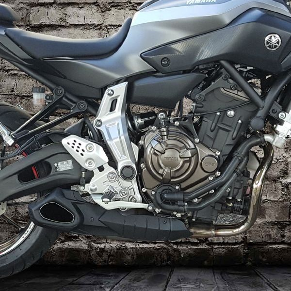 Escapamento Esportivo Yamaha Mt-07 Willy Made Firetong