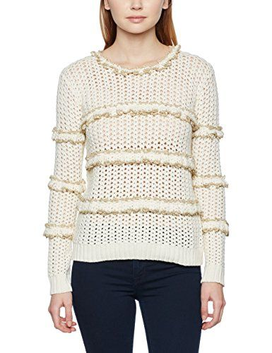 Manoush ecru Pull Fabricant M Fr Femme Froufrou taille 38 BxB6rzw