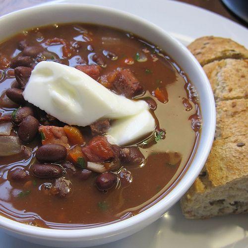 Cuban Black Bean and Ham Soup