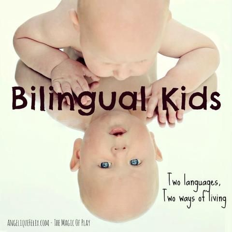 "The Most asked questions  ""Raising your child in a bilingual way"" - Why? - What? -How? With some wonderful resources!"