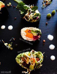 Lovely Sushis [Vegan, cru, sans gluten] | LovelyVeggie