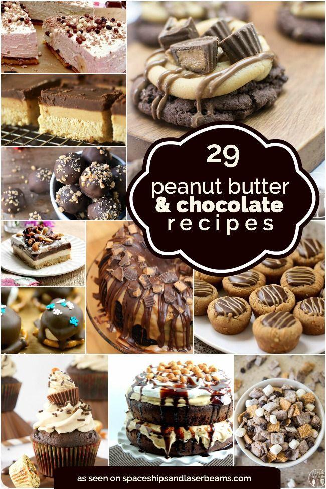 29 Peanut Butter & Chocolate Recipes