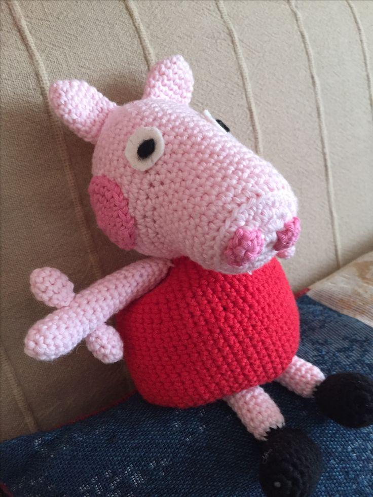 Peppa Pig. Patrón: www.tallerdemao.bligspot.com.es