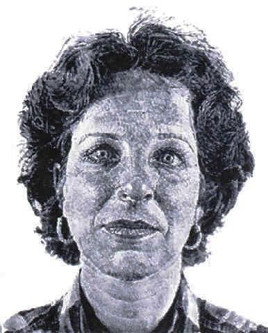 Chuck Close: Fingerprint Art