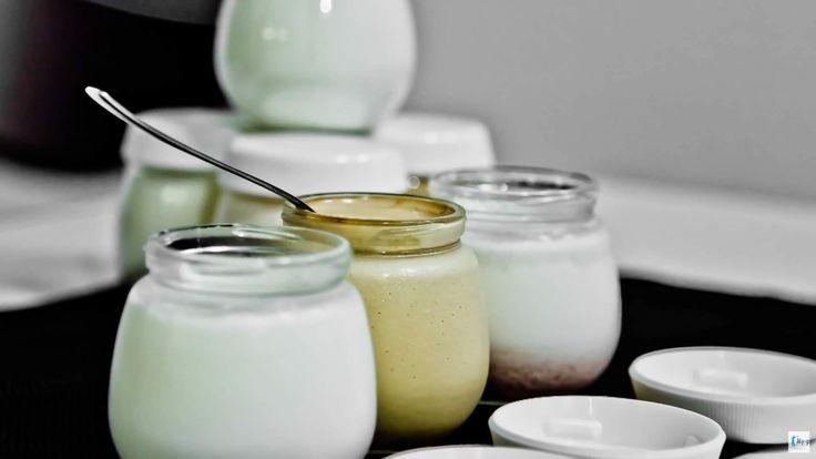 Lo yogurt fatto in casa.