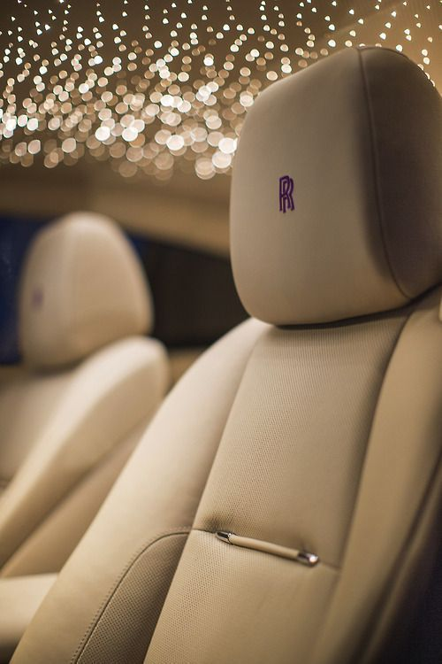 The Rolls-Royce Starlight headliner has 1,340 hand-woven fiber optic lights and can set you back up to $12,000. Click to discover more.