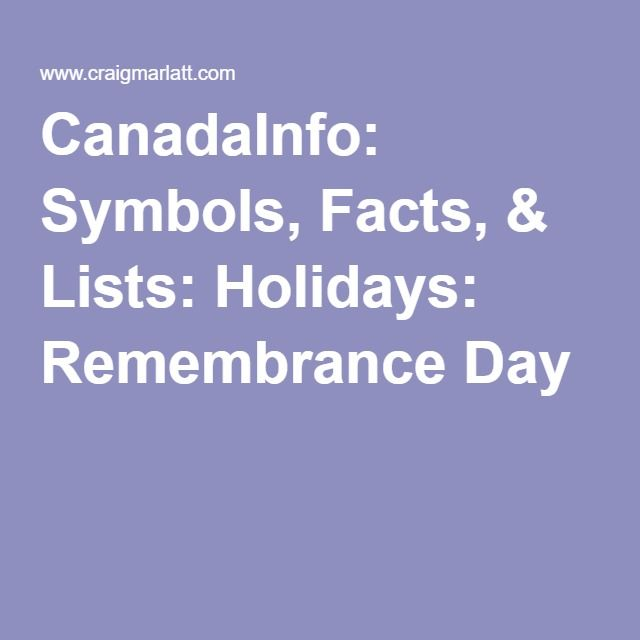 remembrance day canada holiday paid