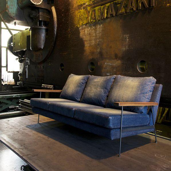 "DENIM Sofa ""Smith""   cubic style"