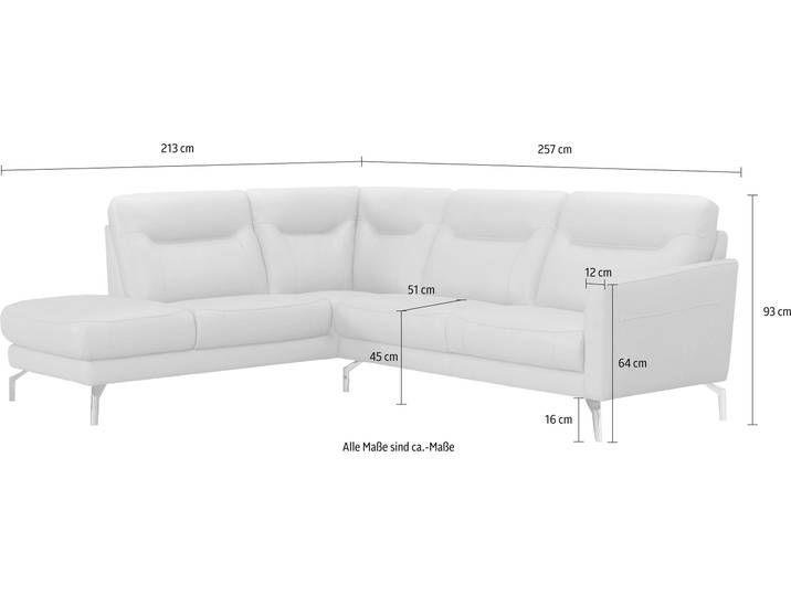 Ecksofa Mit Recamiere Neckermann Grau Naturleder Classical Sofa Couch Love Seat