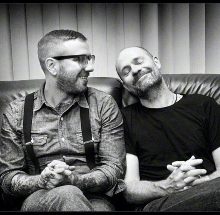 Dallas Green and Gord Downie